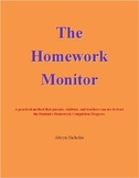 The Homework Monitor