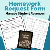 The Homework Request Form & Tracking Log