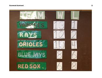 "The ""Homework Scoreboard"""