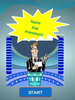 The Homonym Game