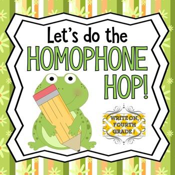 Homophones Activity: The Homophone Hop
