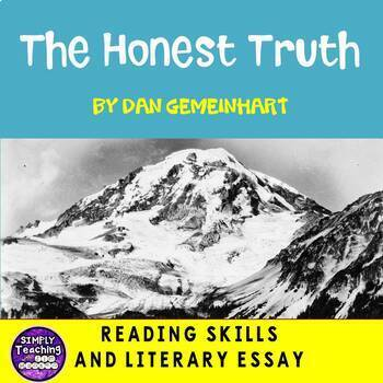 The Honest Truth by Dan Gemeinhart reading and writing skills