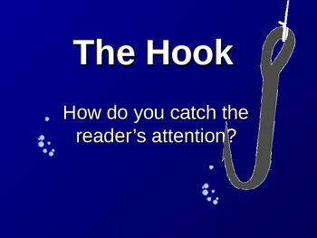 The Hook - How to Create Great Beginnings!