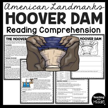 The Hoover Dam Reading Comprehension; Hydroelectricity; American Landmark