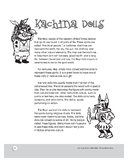 The Hopi People: Kachina Dolls: History, Activities, and Projects for Grades 4-6