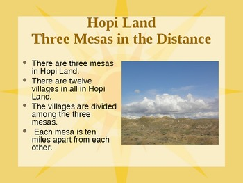 The Hopi - Their Environment, Culture, & Survival - Past and Present