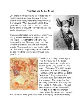 The Hopi and the Ant People