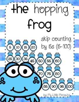 The Hopping Frog Skip counting by 5s (5-100)