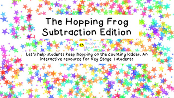 The Hopping Frog Subtraction Edition