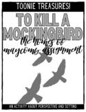 To Kill a Mockingbird Activity: The Horrible Homes of Maycomb