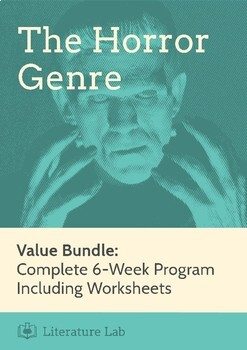 The Horror Genre - Complete 8-Week Program Value Bundle