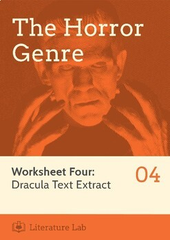 The Horror Genre - Dracula Text Extract