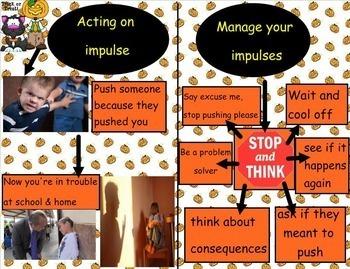 The Horror of Not Managing Impulsivity SMARTboard lesson