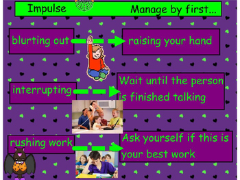 The Horror of Not Managing Your Impulsivity:  PowerPoint Version