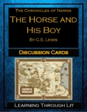 Narnia THE HORSE AND HIS BOY Discussion Cards PRINTABLE & SHAREABLE!