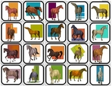 """""""The Horse of many Colors"""" Picture Matching for Autism"""