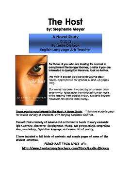 The Host:  A Novel Study