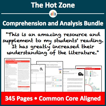 The Hot Zone – Comprehension and Analysis Bundle