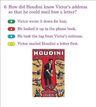 The Houdini Box Reading Street Fourth Grade Quiz