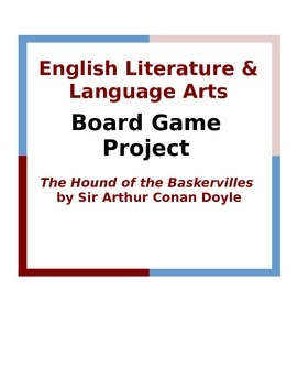 The Hound of the Baskervilles Board Game Project