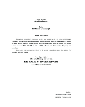 The Hound of the Baskervilles 10 Chapter Reader