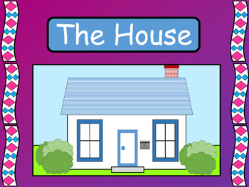 The House – ESL Vocabulary Presentation, Worksheets and Card Games