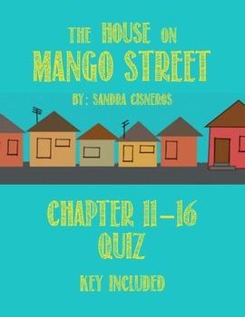 The House On Mango Street Quiz #2