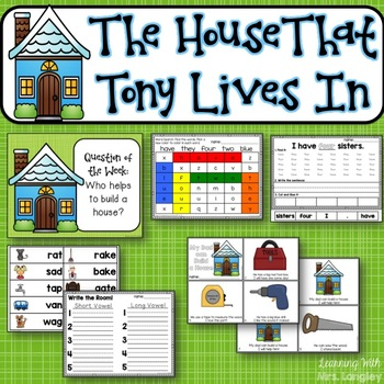 The House That Tony Lives In KINDERGARTEN Unit 6 Week 5