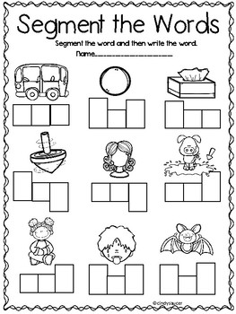 The House That Tony Lives In, Kindergarten, Centers and Printables
