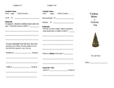 The House Without a Christmas Tree Reading Response Trifold