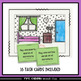 Rooms of the House in Spanish Color Task Cards - La Casa