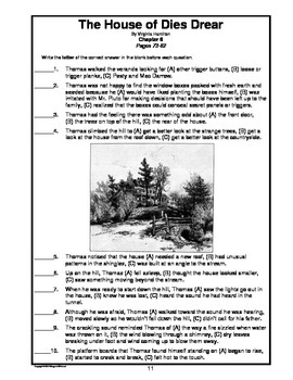 The House of Dies Drear Novel Teaching Guide