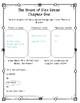 The House of Dies Drear - DIFFERENTIATED Novel Study Sheets