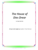 The House of Dies Drear Novel Unit Plus Grammar