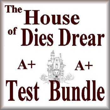 The House of Dies Drear Novel Study Test Bundle Common Cor