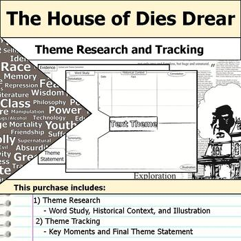 The House of Dies Drear - Theme Tracking Notes Etymology & Context Research