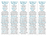 The House of Dies Drear edition of Bookmarks Plus—A Very Handy Reading Aid!