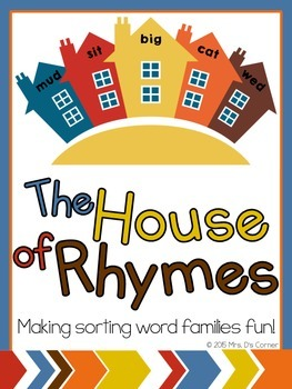 The House of Rhymes { a FUN and Differentiated Word Family