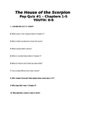 The House of the Scorpion: Quiz on Ch.1-5