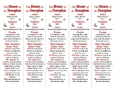 The House of the Scorpion ed. of Bookmarks Plus: Fun Freebie/Handy Reading Aid!