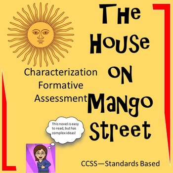 Free The House on Mango Street: Characterization Formative Assessment