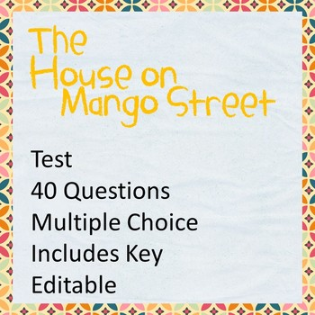 The House On Mango Street Test Teaching Resources Teachers Pay