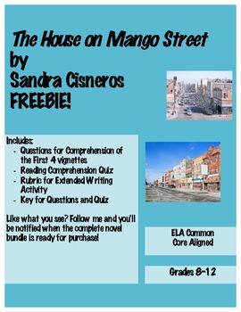 The House on Mango Street Freebie!