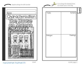 THE HOUSE ON MANGO STREET: INTERACTIVE NOTEBOOK CHARACTERIZATION MINI FLIP