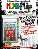 THE HOUSE ON MANGO STREET: INTERACTIVE NOTEBOOK CHARACTERIZATION MINI FLIP