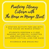 The House on Mango Street Literary Criticism Station Activity