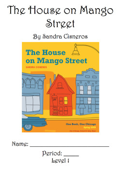 """The House on Mango Street """"My Name"""" Differentiated Packets"""