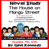 The House on Mango Street Novel Study and Project Menu; Plus Digital Option