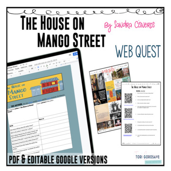 The House on Mango Street QR Code Webquest