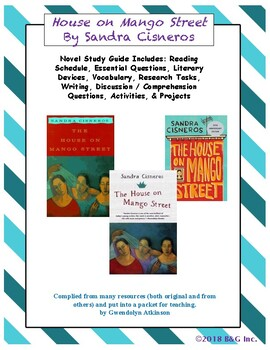 The House on Mango Street Study Guide / Lesson Plans